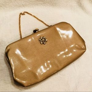 Vintage Bobby Jerome Clutch with Embellishment